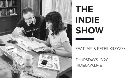 Ari & Peter Krzyzek join the Indie Show