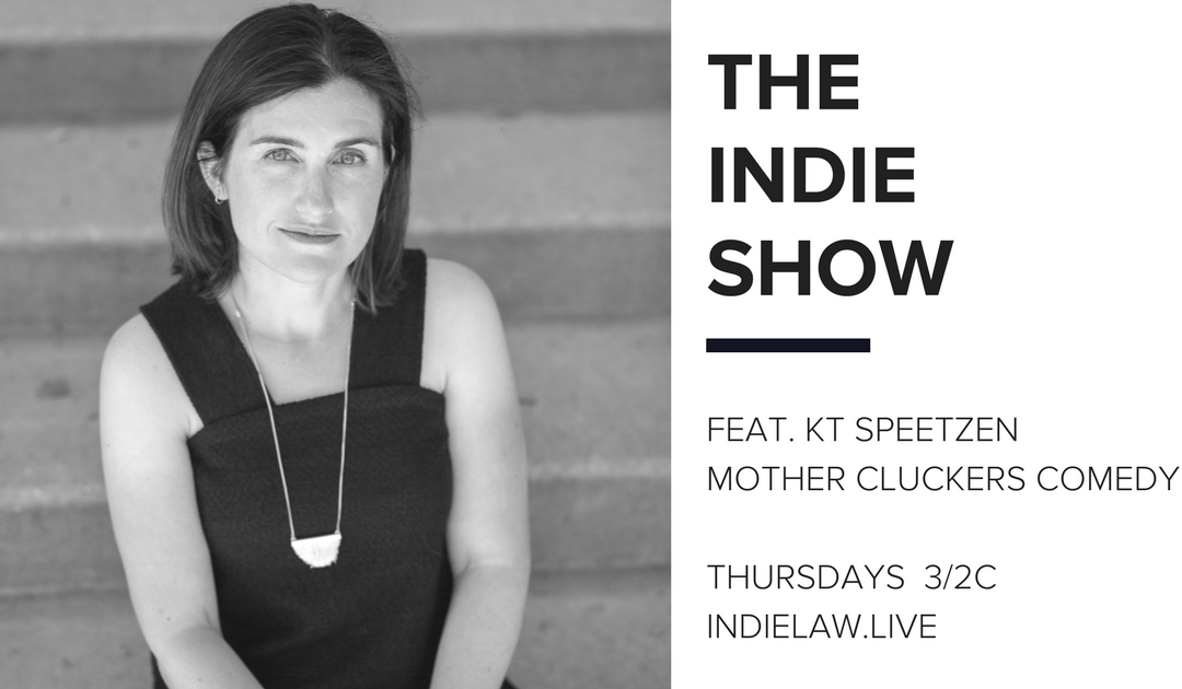 KT Speetzen joins the Indie Show