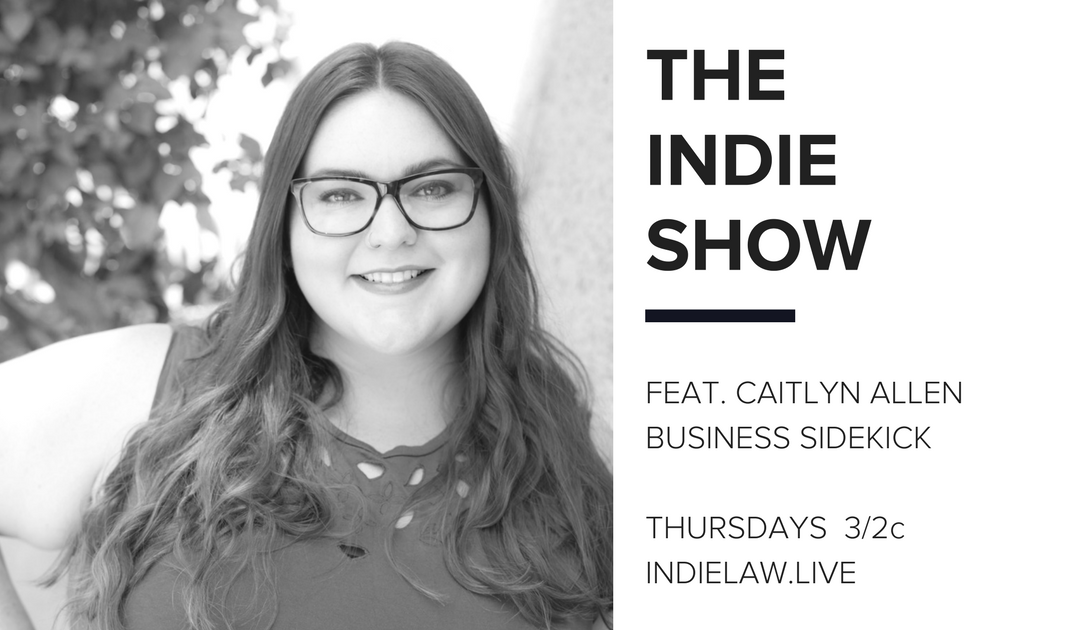 Caitlyn Allen joins the Indie Show